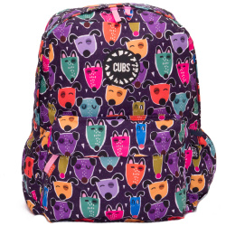 Junior Student 16 Inch Backpack - Cute Dogs