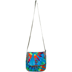Cross Lunch Bag - Turqoise Tie Dye