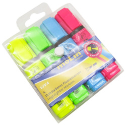 Molin Highlighter Marker Set - 4 Color