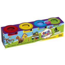 Mini Nova Color Play Dough - 4 Pcs