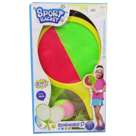 2IN1 Sport Racket - Sticky & Suction Cup Mode