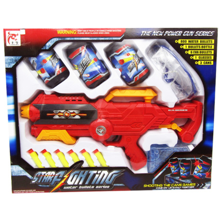 Shooting Gun With Water Bullets - Red