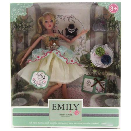 Emily Fashion Doll - Light Green Dress