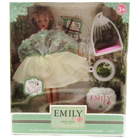 Emily Fashion Doll - Green Dress