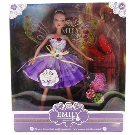 Emily Fashion Doll - Purple Dress