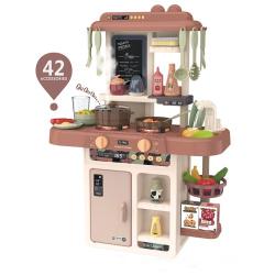Kitchen Set With Light & Sound - 42 Accessories