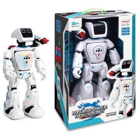 Hydropower Hybrid Robot With Sound & Light