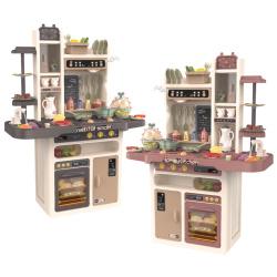 Kitchen Set With Light & Sound - 65 Accessories